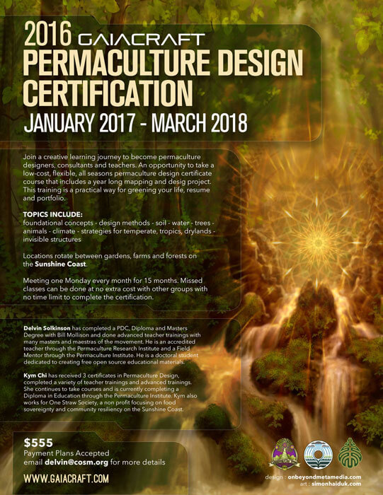 Burnaby Permaculture Design Certificate Course