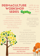 Permaculture Weekend Workshop Series #1
