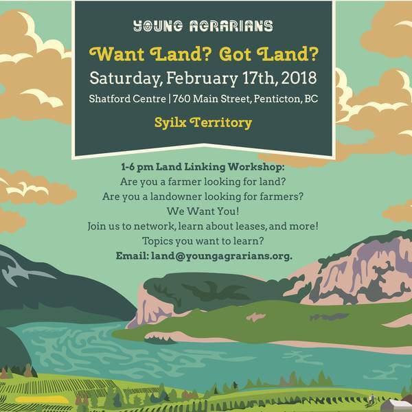 Young Agrarians: South Okanagan Land Link