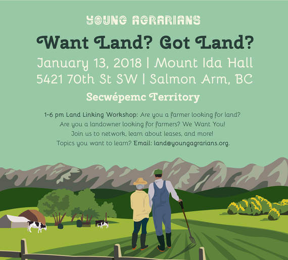 Young Agrarians: Salmon Arm Land Link