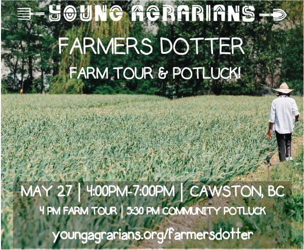 Young Agrarians Farm Tour at Farmers Dotter Organics