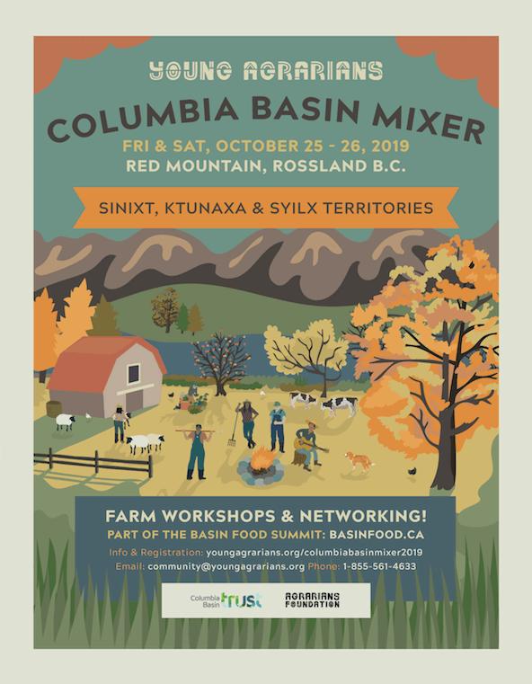 Columbia Basin Mixer