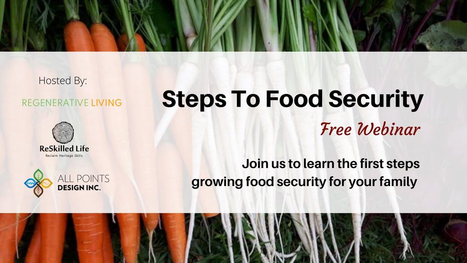 Steps to Food Security